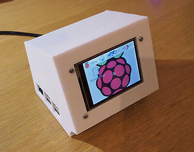 "Adafruit PiTFT 2.8"" LCD TFT  enclosure / Raspberry Pi case B+ onwards"
