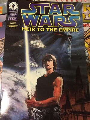 Star Wars Heir To The Empire Complete 1-6 Comics Lovely unread condition!!