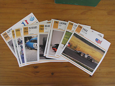 Classic Cars Collector Club cards by Iris Publishing 2 Boxes About 1500 Cards Ha