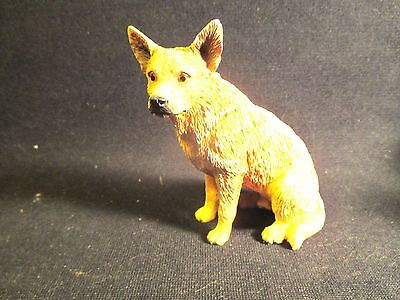 Vintage Australian Cattle Dog Figure