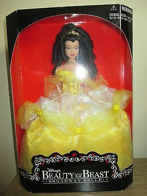 Rare Disney Princess Broadway Belle Beauty and The Beast Doll Boxed Nrfb