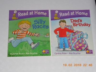 Oxford Reading Tree Read At Home Biff Chip Kipper level 1