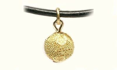 Antique 22kt Gold Pendant Russian Handcrafted Ancient Minoan Granulated Style