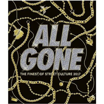 All Gone The Finest in Street Culture 2017 Hardcover Book - Black
