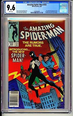 Amazing Spider-Man #252  CGC 9.6 WP Marvel Comics 5/84 1st black costume (Venom)
