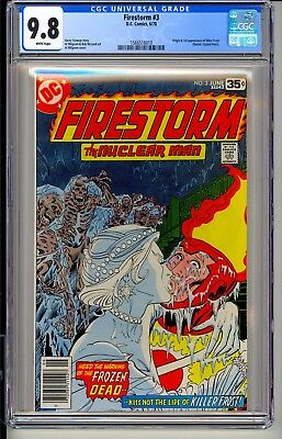 FIRESTORM #3  CGC 9.8 WP  DC Comics 6/78  Origin & 1st appearance Killer Frost