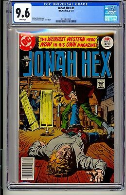 JONAH HEX #1  CGC 9.6 WP  DC Comics 3-4/77  1st Issue! (All-Star Western #10)