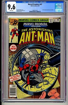 Marvel Premiere #47  CGC 9.6 WP Marvel Comics 4/79  Scott Lang becomes Ant-Man!