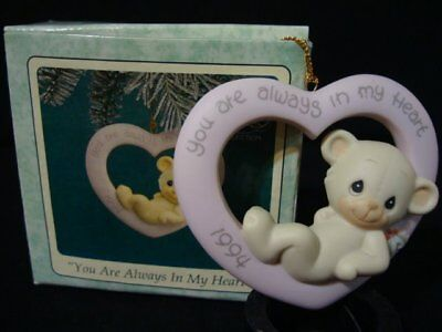 Precious Moments-Bear-You Are Always In My Heart-Limited Edition