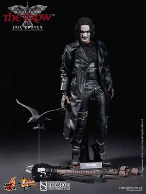 Hot Toys MMS 210 1/6 The Crow Eric Drarven Collectible Figure Brown Shipper NEW