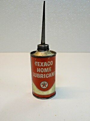 Vintage Texaco Home Lubricant Oiler Can