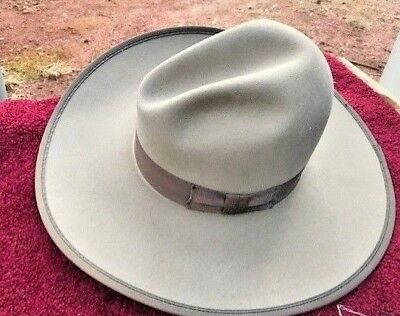 """""""SASS COWBOY""""  ANOTHER GREAT CHARACTER HAT 5X """"RODEO KING"""" GUS with Bound Edge 7"""