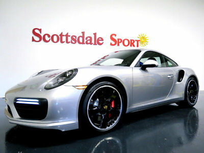 2017 Porsche 911 * ONLY 3,798 Miles...EXCEPTIONAL 17 911 TURBO CPE * 3K MILES, FRONT LIFT, PDCC, PANO ROOF, SPORT CHRONO, CAMERA