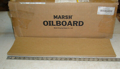 """nos marsh oil board for stencils 7"""" x 24"""" lot of 25"""