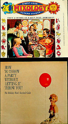 Southern Comfort mixology Astrology 1972  Mixed Drink 1960 Party recipe booklet