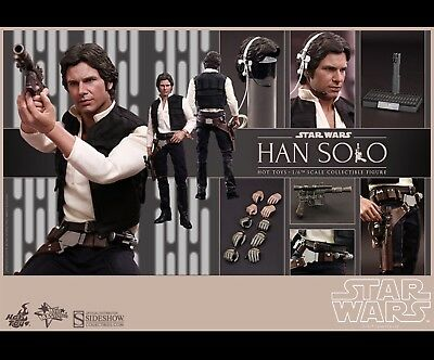 Hot Toys Star Wars: Episode IV A New Hope Han Solo 1/6th scale sideshow