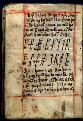 Galdrabok Icelandic Book of Magic Staves Grimoire Manuscript PDF