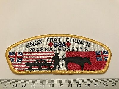 Knox Trail Council Massachusetts S2 BSA CSP Boy Scouts of America