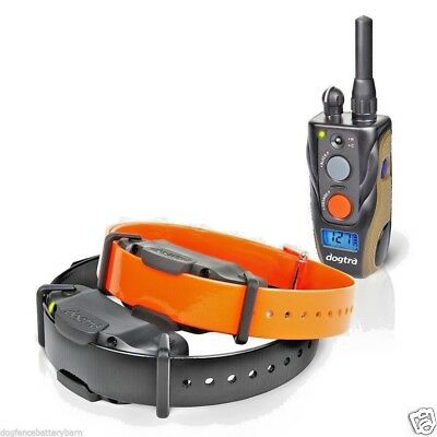 Dogtra 1902S Remote TWO Dog Training Collar 3/4 Mile High Power Trainer