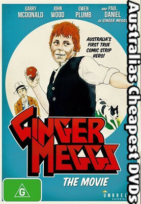 Ginger Meggs DVD NEW, FREE POSTAGE WITHIN AUSTRALIA REGION ALL