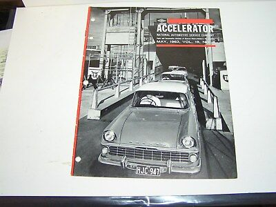 Nasco , Gmh , Accelerator  Holden  Parts  Newsletter . May   , 1962.