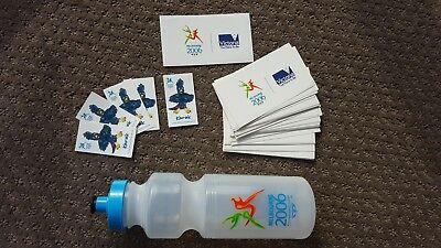 Melbourne 2006 Commonwealth Games – Stickers (Qty 60) and water bottle