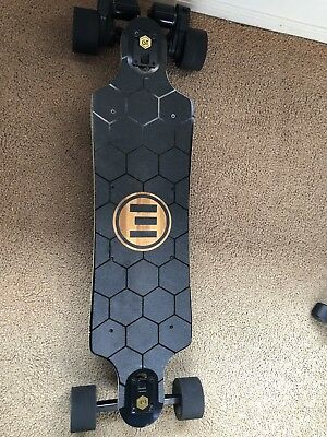 Evolve Gtx Skateboard: Gold bamboo edition!!