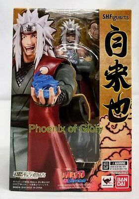New Bandai Tamashii Web Exclusive S.H Figuarts Jiraiya USA