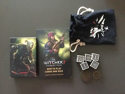 Witcher Dice And Cards