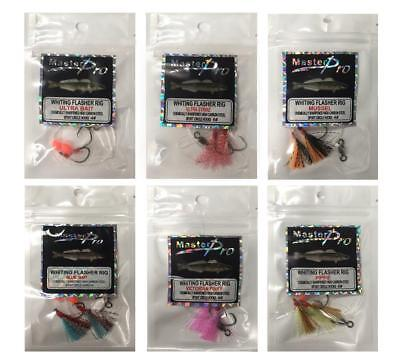 6 x Custom Designed Fishing Whiting Rigs 6 Different Colours,Fishing Tackle 1