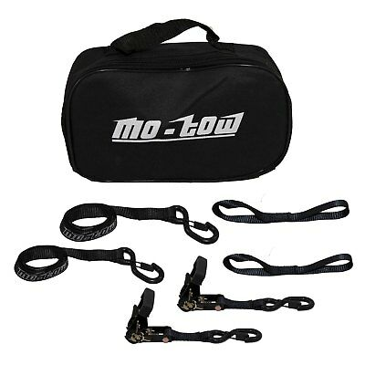 Motow ratcheting Tie Down Strap motorbike motorcycles motorcross 2 x Pair