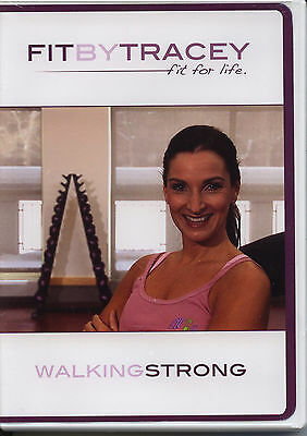 FIT BY TRACEY ~ FIT FOR LIFE ~ WALKING STRONG ~ DVD new