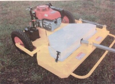 Tow N Mow Slasher Mower, Tow Behind.