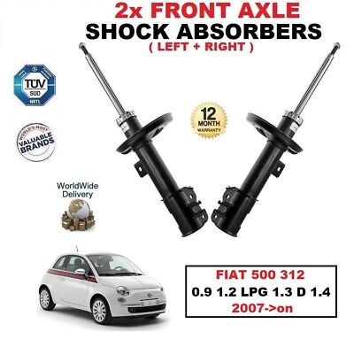 FOR FIAT 500 312 0.9 1.2 1.4 1.3D 2007-2012 FRONT RIGHT GAS SHOCK ABSORBER STRUT