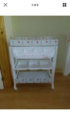 Ladybird Baby Changing Unit/changer/station/bath