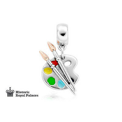 BRAND NEW Clogau Silver & Rose Gold Artist Palette Milestones Charm £20 off!