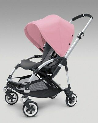 Bugaboo Bee Hood Canopy Soft Pink Extendable Waterproof - Very good condition