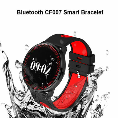 CF007 IP68 Smart Bracelet Heart Rate Smart Band Sports Tracker Blood Monitor