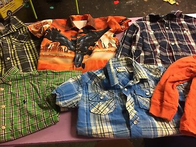 Boys Clothes Size 4t Lot Of 6