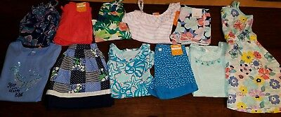 NWT Size 6 Girls Lot of Gymboree Summer Spring Clothes Outfits Whale floral