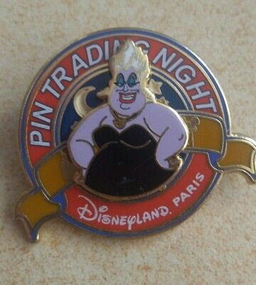 Pin's Disney 2014 pin trading night Ursula LE-400