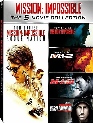Mission Impossible - 5 Movie Collection (5 DVD) - ITALIANO ORIGINALE SIGILLATO -