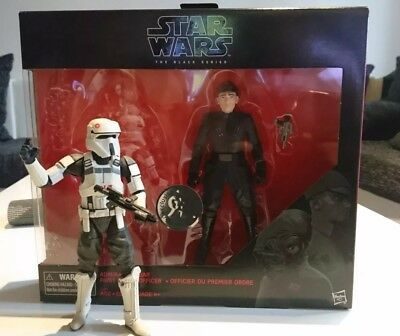 Hasbro Star Wars Black Series 6 inch Imperial AT-ACT Driver, Imperial Officer