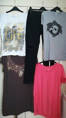 Women's clothes bundle size 10 * T-shirt * Tops * Ripped knee Jeans