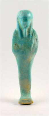 Egypt Late period 30th Dynasty faience ushabti