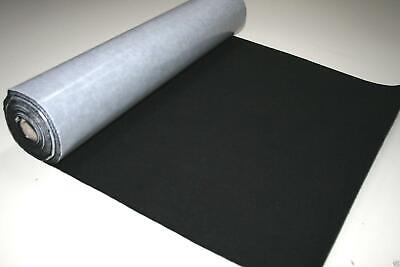 Self Adhesive Felt Baize Fabric Mini Rolls - BLACK
