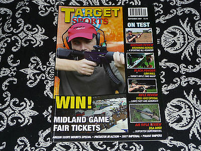 Target Sports Sept 2007 Enfield No4 Sniper scopes, 45-70 review, 10/22 Target