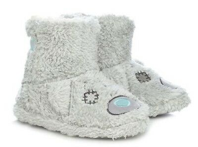 Debenhams Me To You Tatty Teddy Grey Slipper Boots Slippers Brand New