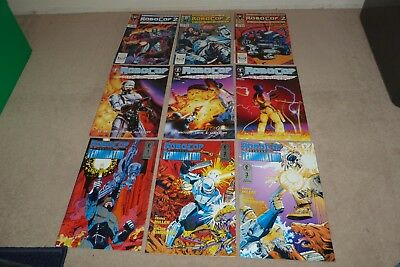 9 Rare Robocop Usa / American Comic Collection Marvel Comics Terminator