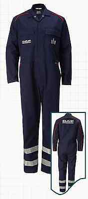 New Daf Truck Overalls Boilersuit Regular Leg With Hi Viz